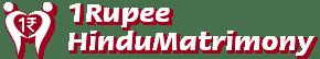 1 Rupee matrimony logo